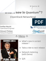 What s New in Neutron- openstack icehouse