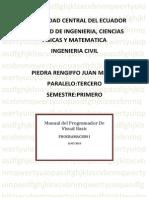 Manual Programador Visual Basic