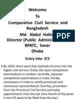 Comparative Civil Service and BangladeshComparative  Civil Service and  Bangladesh