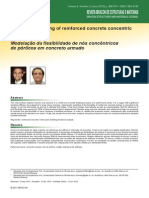 Flexibility Modeling of Reinforced Concrete Concentric Frame Joints
