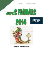 PDF Textos Guanyadors 2014