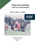 Fonemas Runasimi Tupaqamaro Video Web