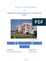 Overview of Indian Tea Industry