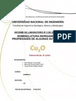Nomenclatura Inorganica y Propiedades de Algunas Sustancias 2012-1