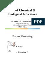 Use of Chemical & Biological Indicators - 2014 2