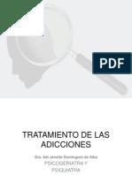 Transtorno Por Uso de Drogas. Tratamiento