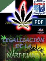 Legalizacion de La Marihuana