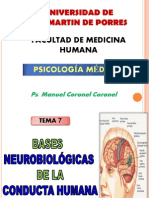 Bases Neurobiologicas de La Conducta