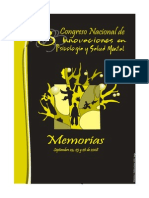 3er Congreso de Innovaciones en Psicología y Salud Mental