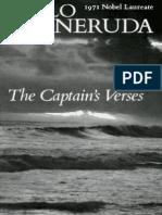 Pablo Neruda Captain's Verses