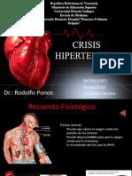 Medicina de Urgencias. Hipertension Arterial