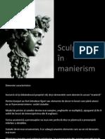 Sculptura in Manierism