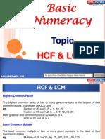 112658788 Basic Numeracy HCF LCM