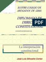 Cal 1rasesion Interpretacion Constitucional