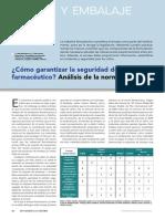 Article Iquestcoacutemo Garantizar La Seguridad Del Envase Farmaceacuteutico Anaacutelisis de La Normativa Www.farmaindustrial.com