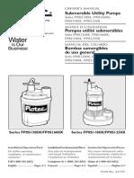 fLOTEC sUBMERSIBLE pump manual