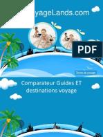 Voyagelands comparateurs guides voyage.ppsx