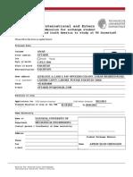 TU Darmstadt Applicatasdasion Form