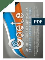Catalogo COETE 2009