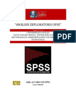 Análisis Exploratorio SPSS