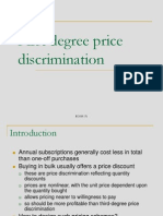 1st Price Discrimination