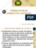 Normatividad Ambiental Nacional