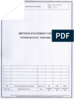 Hydrotest Procedure