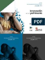 ACTAS AR&PA2012_Innovación en El Patrimonio