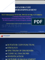 Rotator Cuff Disorders Bone School