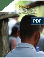 Analisis de Conflictividad Huila PDF