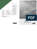 Samsung 55In LED TV Manual