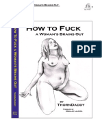 How to Fuck a Womans Brains Out