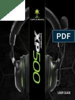 XP500 User Guide