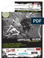 2009 Cyclocross National Championships Event Guide - Bend Oregon