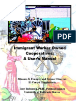 Immigrant Worker Owned Cooperatives