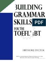 Building Grammar Skills for TOEFL IBT