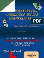 El Problema Del Curriculo en La Universidad
