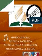 ¿Existe Musica Sacra (Rolf Baier S.)