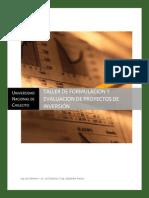 2 Taller Evaluacion de Proyectos Sistemas 2012