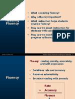 reading fluency powerpoint