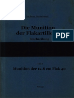 """L.Dv.4402/7"" Die Munition der Flakartillerie. Beschreibung. Teil 7"