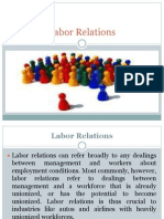Labor Relations Ppt