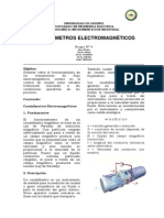 Paper Caudalimetro Electromagnético
