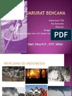 Tanggap Darurat Bencana Dina