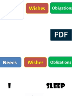 Needs Wishes Obligations