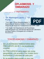 Toxoplasmosis y Embarazo