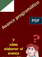 Avance Programatico