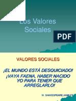 Los Valores Sociales