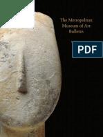Art of the Aegean Bronze Age the Metropolitan Museum of Art Bulletin v 69 No 4 Spring 2012
