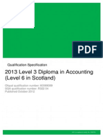 AAT Level 3 Diploma in Accounting Specification